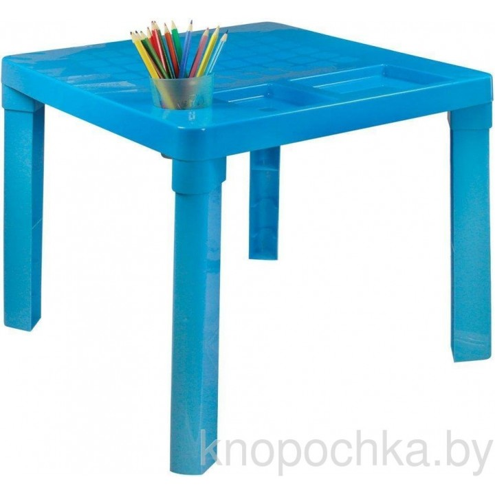 Столик для детей синий М1228
