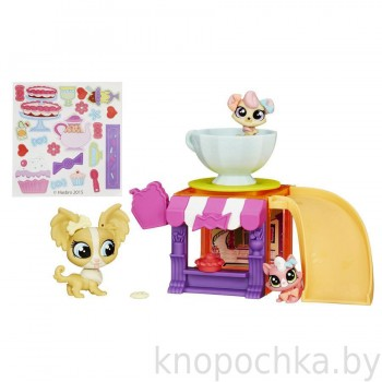 Игровой набор Littles Pet Shop Игровая площадка Hasbro B2957