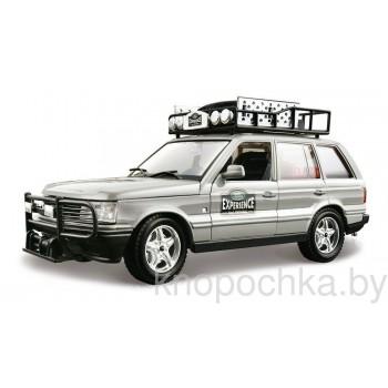 Коллекционная машинка Range Rover Safari Bburago 1:24