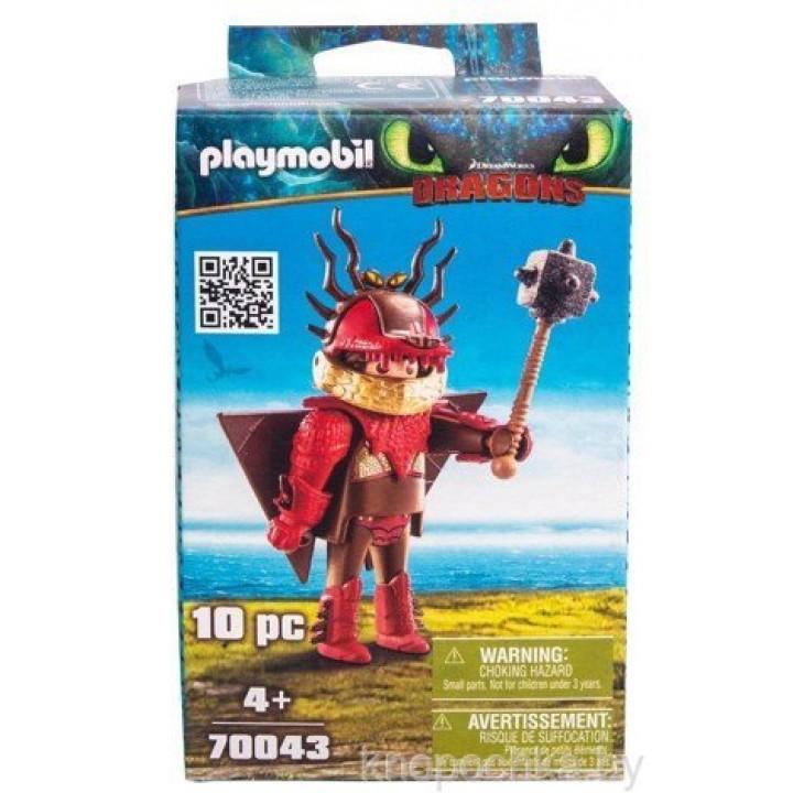 Playmobil 70043 Драконы 3: Сморкала в летном костюме