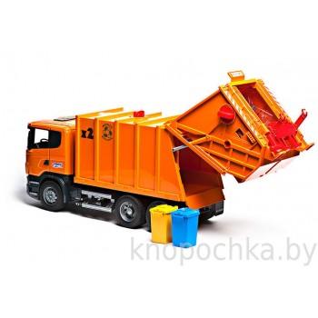 Игрушка Брудер Мусоровоз Scania Bruder 03560