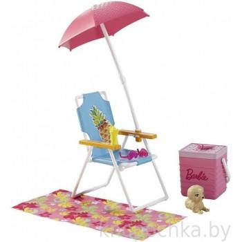 Набор мебели Barbie Пляж DVX49