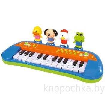 Музыкальное пианино с животными Simba