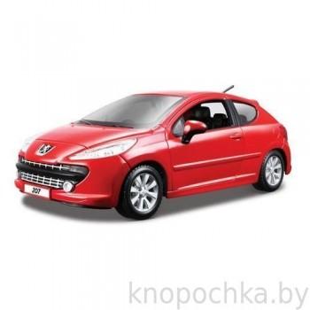 Модель автомобиля Peugeot 207 1:24