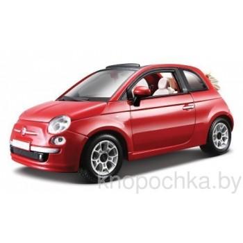 Коллекционная модель авто Fiat 500 (2007) 1:24