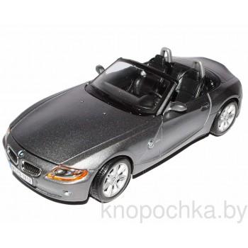 Коллекционная модель авто BMW Z4 1:24 Bburago 18-22002