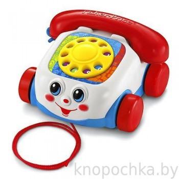 Развивающая игрушка каталка-телефон Fisher Price