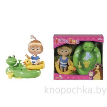 Игрушка Маша и Медведь Маша с бассейном с функцией брызг Simba