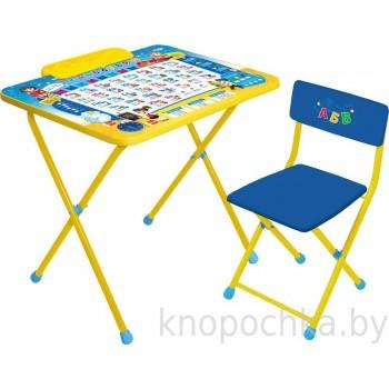Детский столик и стульчик Ника Познайка
