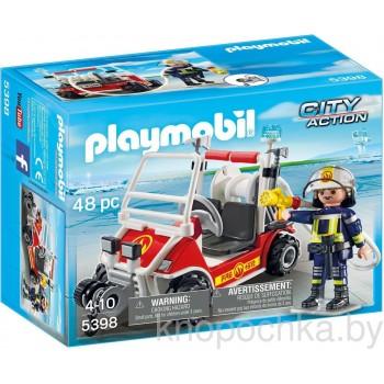 Конструктор Playmobil 5398 Аэропорт: Пожарный квадроцикл