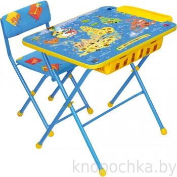 Набор детской мебели Ника КУ2П с большим пеналом Познаю мир