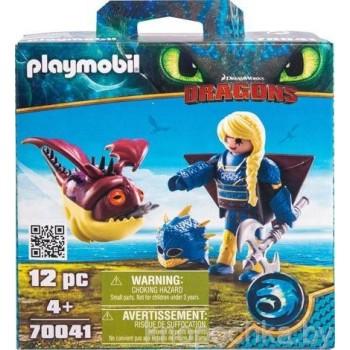 Playmobil 70041 Драконы 3: Астрид с хобгоблером