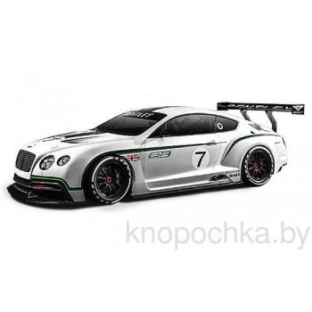 Коллекционная машинка Bentley Continental GT3 Bburago 1:24