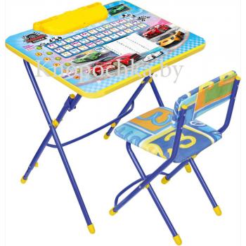 Набор детской мебели с пеналом Ника КУ3 Большие гонки
