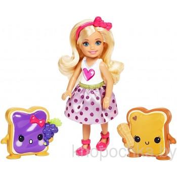 Набор Barbie кукла Челси и сладости FDJ10