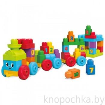 Обучающий паровозик Mega Bloks