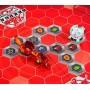 Арена с эксклюзивным шаром-бакуганом Файдрус Bakugan Battle Planet красная
