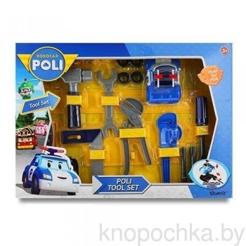 Набор инструментов на пояс Robocar Poli 83029