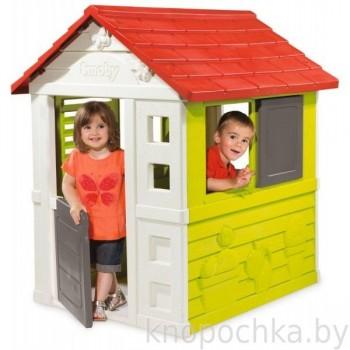 Детский пластиковый домик Smoby 810704