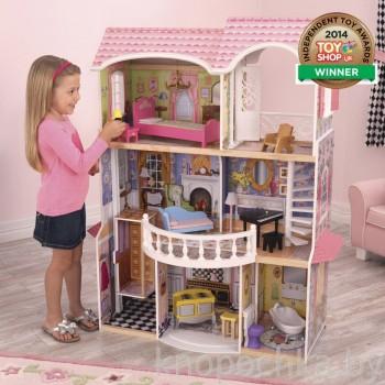 Кукольный домик для Барби с мебелью Магнолия Kidkraft