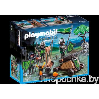 Плеймобил Рыцари: Катапульта Рыцарей Волка Playmobil 6041