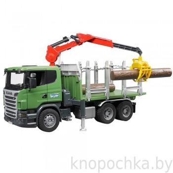 Игрушка Брудер Лесовоз Scania Bruder 03524