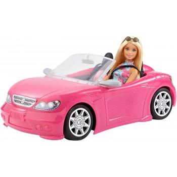 Гламурный кабриолет Барби с куклой