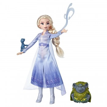 Кукла Холодное сердце-2 Эльза с друзьями