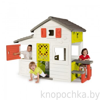 Детский домик для друзей Smoby 310209