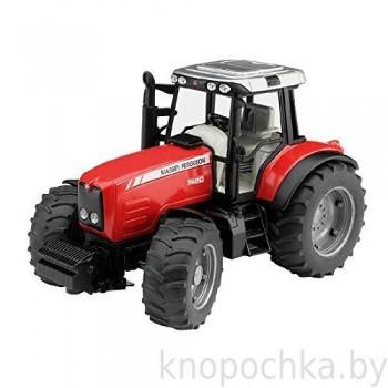 Игрушка Брудер Трактор Massey Ferguson 7480 Bruder 02040
