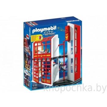 Пожарная станция с сигнализацией Playmobil 5361