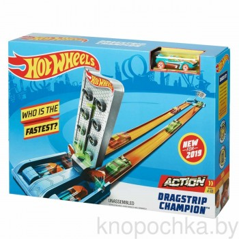 Трек Hot Wheels Dragstrip Champion GBF82