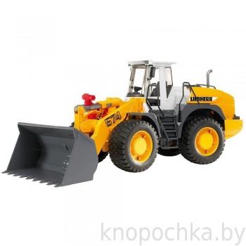 Игрушка Bruder Погрузчик колёсный Liebherr L574 с ковшом 02430
