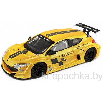 Коллекционная машинка Renault Megane Trophy Bburago 1:24