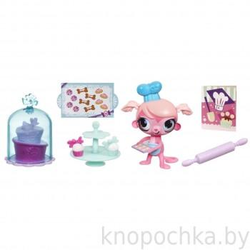 Мини-игровой набор Littlest Pet Shop Деликатесы