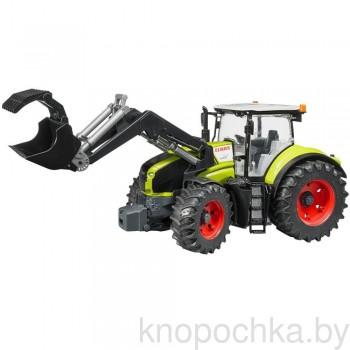 Игрушка Брудер Трактор Claas Axion 950 c погрузчиком Bruder 03013