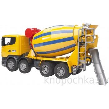 Игрушка Брудер Бетономешалка Scania Bruder 03554
