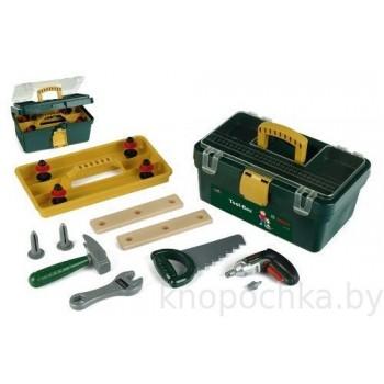 Детский набор инструментов в ящике с винтовертом Klein 8305