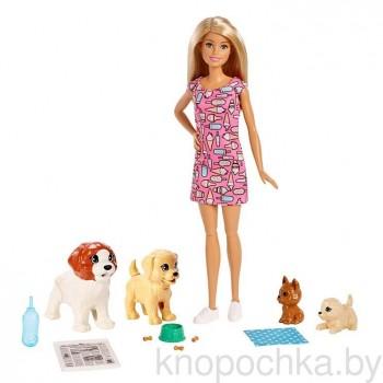 Набор Барби с питомцами Doggy Daycare FXH08