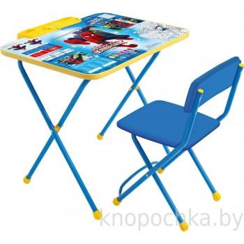 Набор столик со стулом Ника Великий человек-паук Disney2