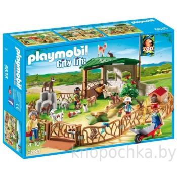 Зоопарк: Детский контактный зоопарк Playmobil 6635