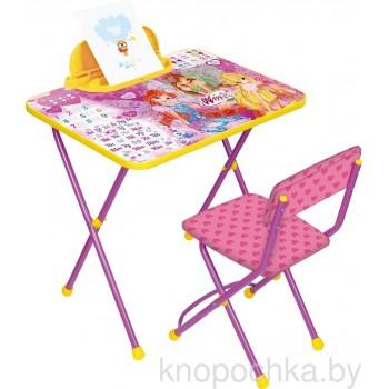 Детский столик и стульчик Ника Winx В2А