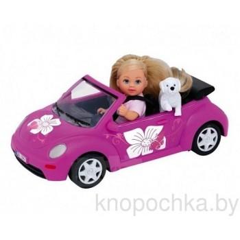 Кукла Эви на машине Simba
