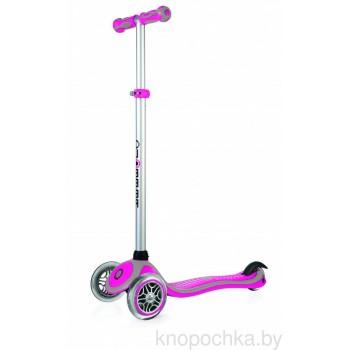 Самокат Globber Primo Plus (розовый)