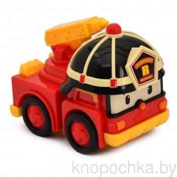 Машинка Robocar Poli Рой инерционная, 8 см