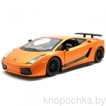 Коллекционная машинка Lamborghini Gallardo Superleggera (2007) Bburago 1:24