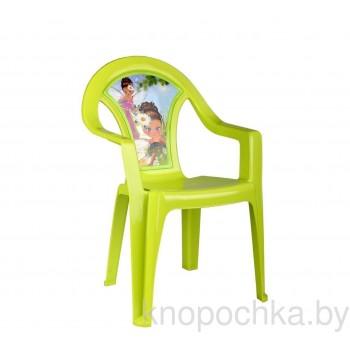 Пластиковый детский стульчик Фея