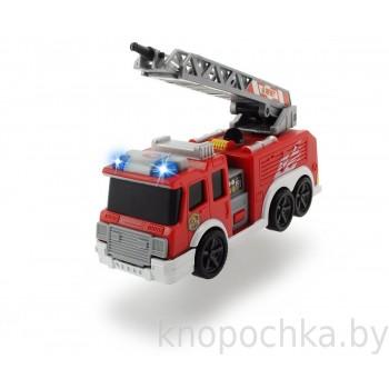 Пожарная машина инерционная Dickie, 15 см (свет, звук)