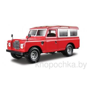 Коллекционная машинка Land Rover Bburago 1:24