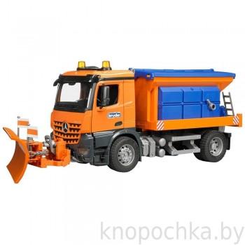 Игрушка Брудер Снегоуборочная машина MB Arocs Bruder 03685